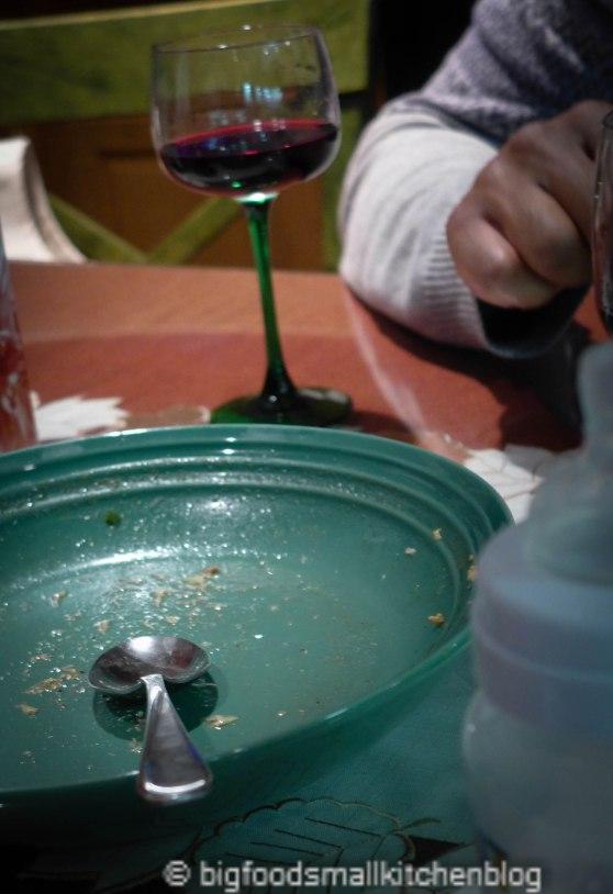 soup, enjoyed