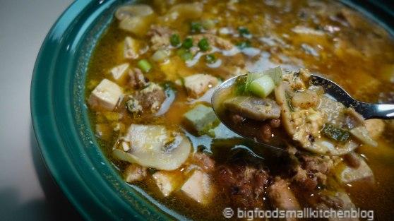 soup in spoon