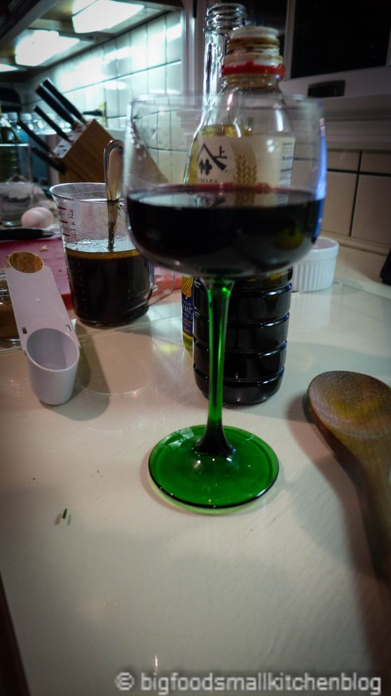 wine & soy sauce